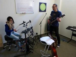 Musik in der Rhythmusgruppe