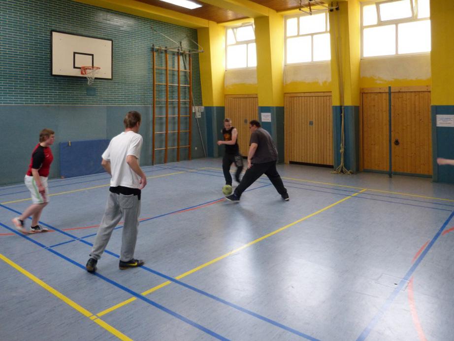 Der Kampf um den Ball…