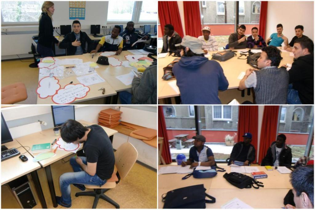 Bilder zum Stützunterricht Deutsch und Mathematik