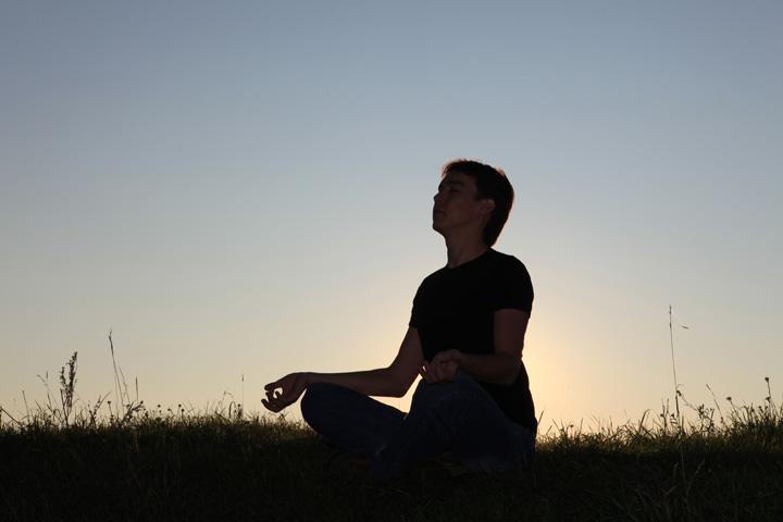 Yoga – Lotussitz