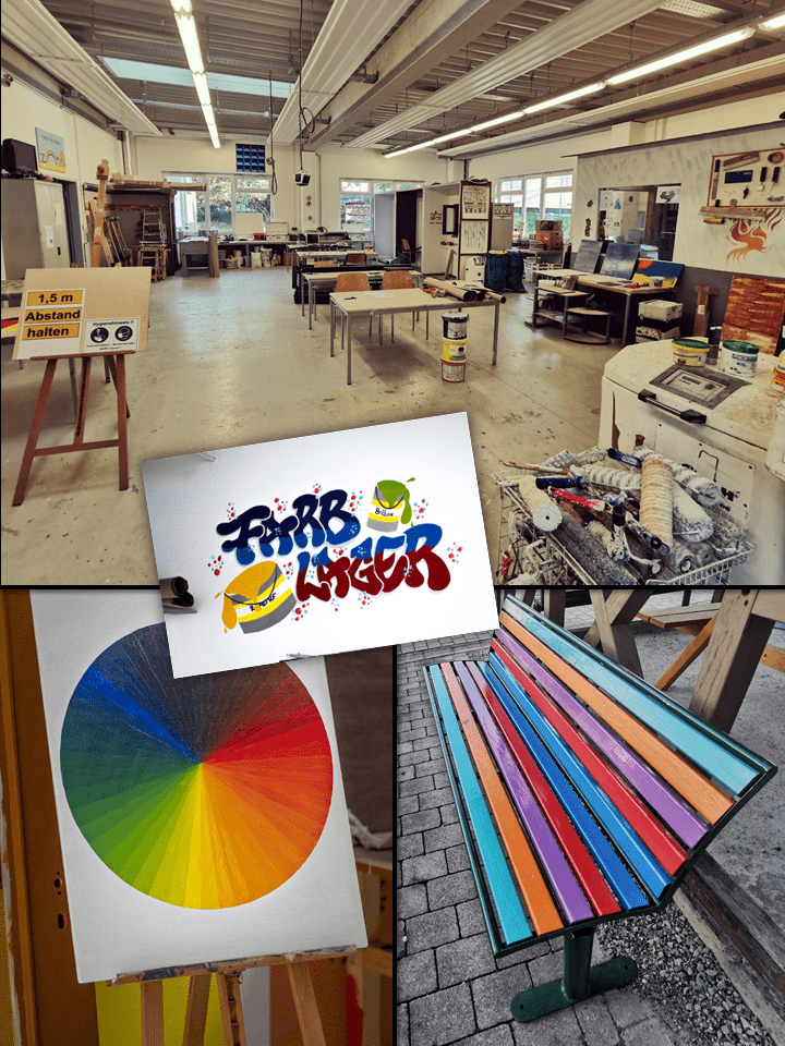 Arbeitsraum Farbe/Raumgestaltung